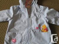 Disney Baby Winnie the Pooh Girl's Rain Coat for 12-18