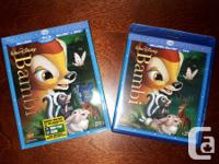 Disney Blu Ray movies (with DVD version included too) -