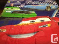 Disney Cars Full Sheet Set with Comforter: $60