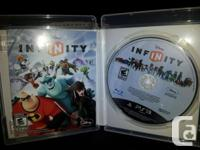 Selling Disney Infinity game, starter pack, additional, used for sale  Prince Edward Island