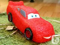 The Disney Cars lighting McQueen lamp is made