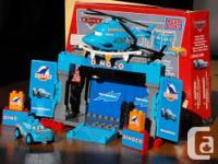 Four Mega Bloks sets from Disney's original CARS movie.