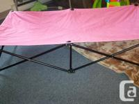 I have a fold out travel cot or if friends sleepover.