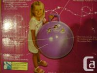 Never used! Still in box. - Child's exercise ball,