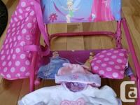 This Disney Beach Set with Princess Beach Chair for the