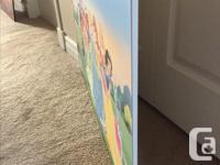 "This Disney Princess poster (22""x33.5"") was mounted at"