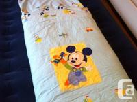 Illumination Blue Disney Children Sleeping Bag. Clean