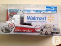 NEW DISNEY CARS UNITED STATE EXCLUSIVE WALLY HAULER
