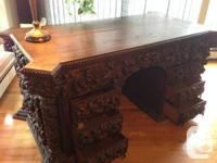 This special desk provides a magnificent addition to