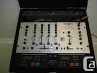 DJ Console with American DJ Q-3433 Proformer Plus