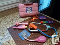 Doctor's Kit PINK Includes 8 instruments (the doctor's