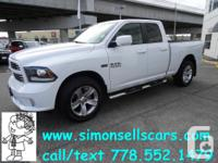 Make Dodge Model Ram 1500 Year 2014 Colour WHITE THIS