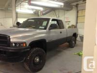 I am selling my 98 Dodge ram 1500, the truck is in