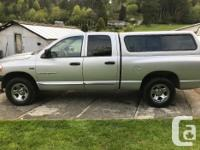 Make Dodge Model Ram 1500 Year 2007 Colour Silver kms