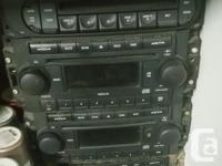2000-2007 Dodge Chrysler Stereo CD Players. Fits almost