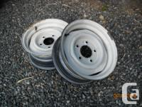 2 - Dodge/Chrysler 5 hole 15 inch rims. Originally from