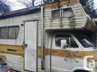 Dodge Class C's 1975 24' Motorhomes 2 of them one was