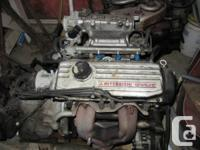 I have three, 4 cylinder motors with