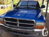 Make Dodge Model Dakota Year 1998 Colour Blue kms
