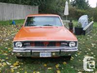 . Make. Dodge. Model . Dart. Year. 1967. Colour.