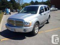 2005 Dodge Durango 157,000 Kilometers, Premium Sound,