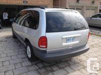 Good condition Silver Color Dodge Grand Caravan 3.8 L