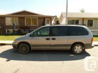 I`m selling my reliable Dodge Grand Caravan (1996,