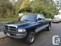 Make Dodge Model Ram 2500 Colour blue Trans Automatic