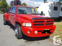 Make Dodge Model Ram 3500 Year 2001 Colour Red kms