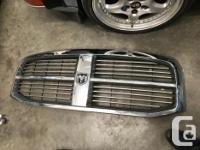 Front steel bumper and grille off a third gen dodge ram
