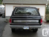 Make Dodge Model Ramcharger Year 1985 Colour Black