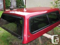 "Lear canopy to fit Dodge 6'6"" truck. Factory ordered to"