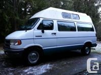 """""""93 Dodge 2500 Van, superb cond. Runs best, no"""