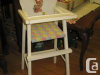 """- - - STORE WIDE SALE - - - Doll highchair -- 27 1/2"""""""
