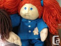 Three lovely Cabbage patch Vintage Doll's, I collected