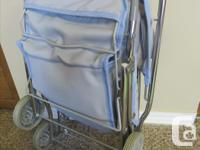 like new - adorable collapsible doll stroller - from