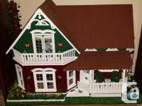 Available: Handmade, totally equipped Doll-house. All