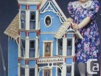 SAN FRANCISCIAN Doll house 7 rooms - 2 staircases - 15