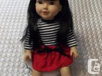 "All in mint condition those 18"" doll have silky soft"
