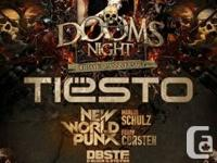 I got tickets for the 2 DAY event!  October 26&27