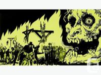Doom, trad metal, thrash, black, death, stoner, retro,