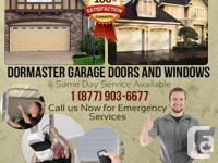 """Dormaster"" supplies exceptional quality of garage area"