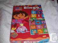 Selling a brand new, Dora bingo game. This 2 to 4