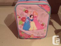 Carry on size suite cases great for sleepovers or