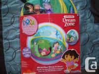 For sale one used Dora the Explorer Dream Zone All in