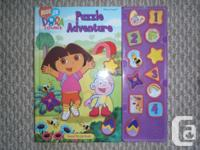 For sale one used Dora the Traveler Great Puzzle