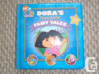 For sale one used Dora's 3 Little Fairy Tails Schedule