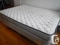 Dormez vous mattress, size DOUBLE, used for less than a