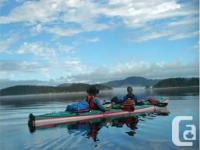 Seaward Southwind Kayak ~ a dual kayak with severals