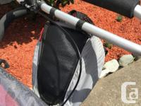 Double stroller in very good condition. Comes with